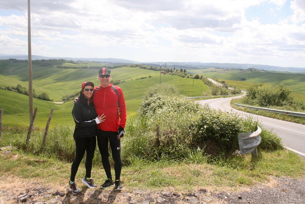 day bike trip cycling Crete Senesi Siena