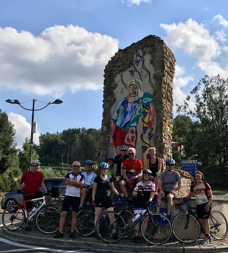 Rapolano Terme Montalcino in bicicletta