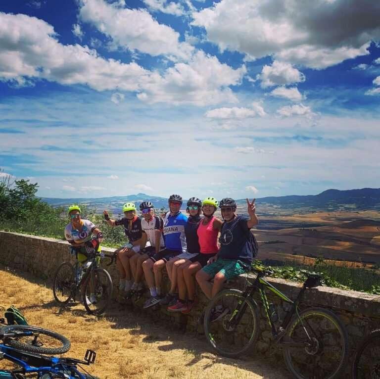 bike tour Pienza
