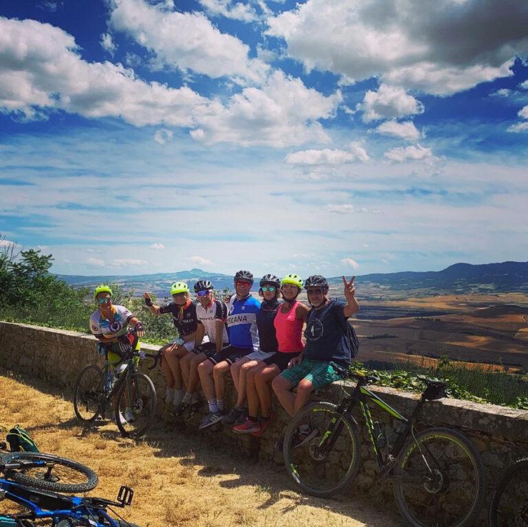 Gita in Bicicletta a Pienza